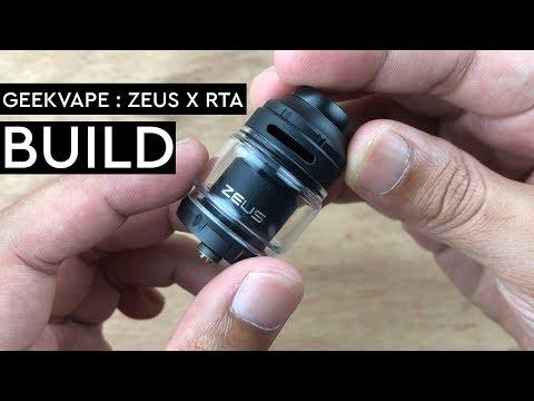 EASY COIL BUILD GEEKVAPE : ZEUS X RTA - THEVAPE69