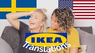 Translating Names of Ikea Products from Swedish to English - Back To School Edition