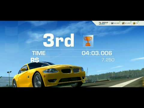 Real Racing 3 BMW Z4 M COUPE, Short Hockenheimring Germany
