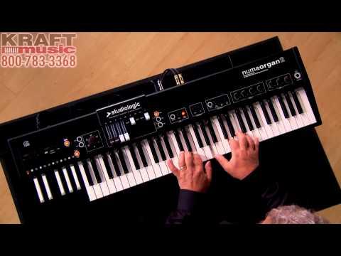 Kraft Music - Studiologic Numa Organ 2 Demo with Chris Martirano