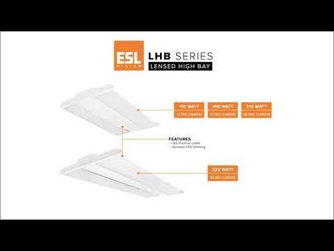 ESL Vision Introduces a Line of Ultra Thin High Output Linear High Bays