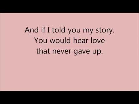 My Story by Big Daddy Weave (with lyrics)