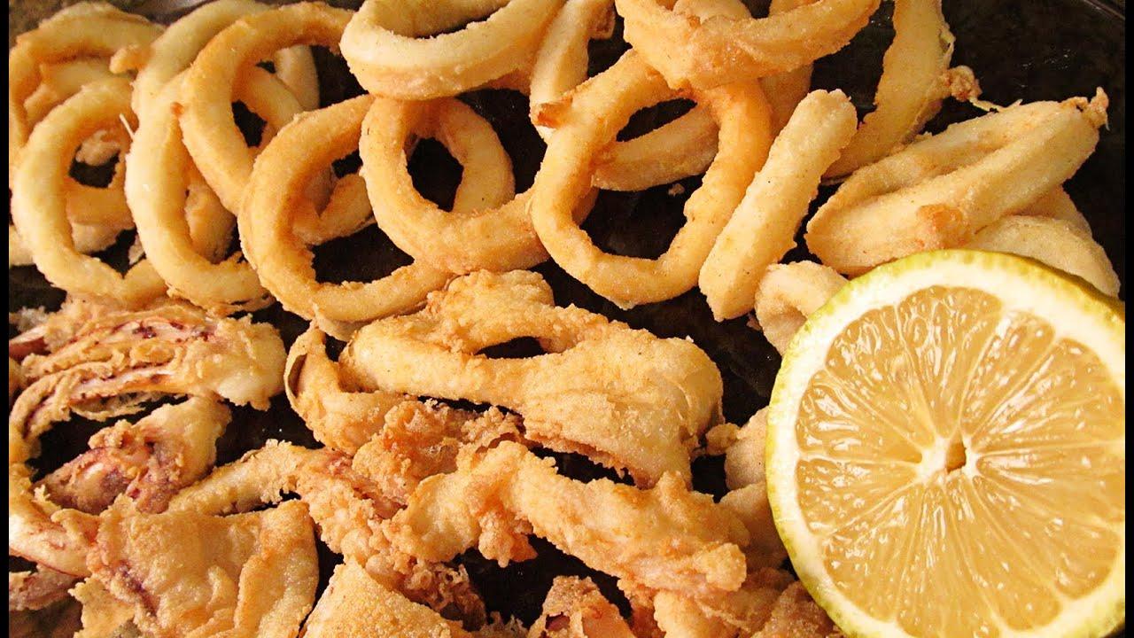 como se preparan los calamares