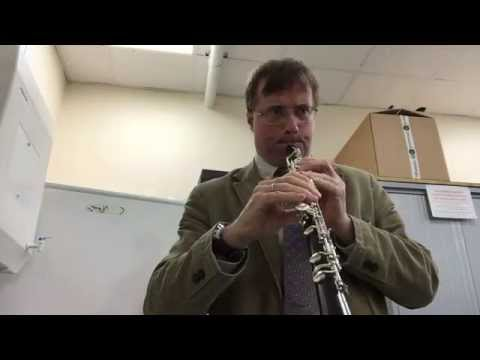 StarStream cleans oboe reeds