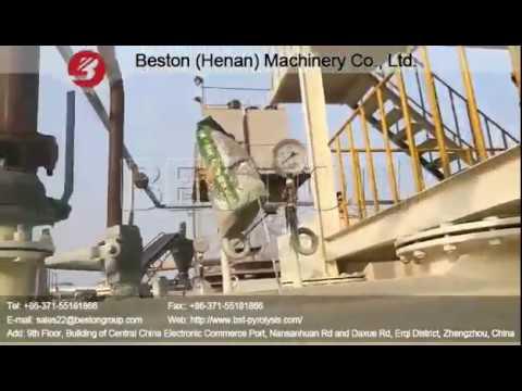 Working Process of Waste Oil Distillation Machine Running in Beston Factory