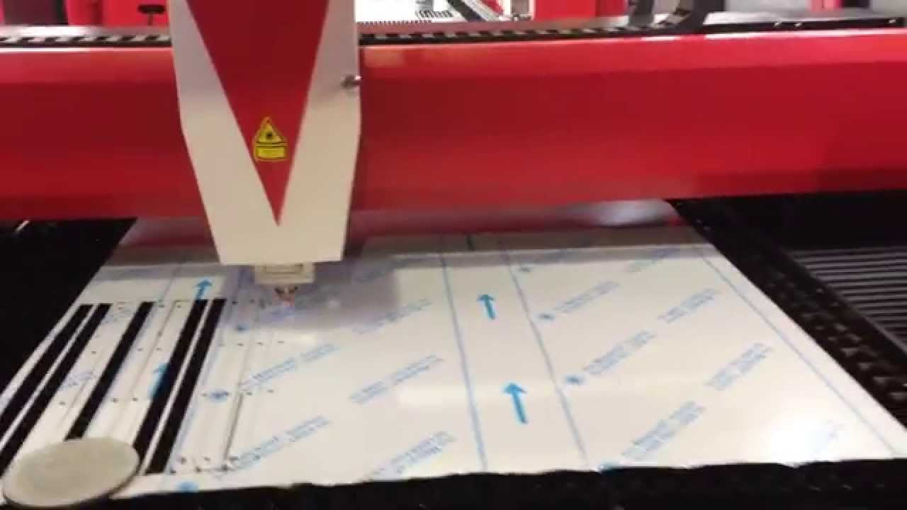 Stainless Steel Film Protection Cutting Youtube