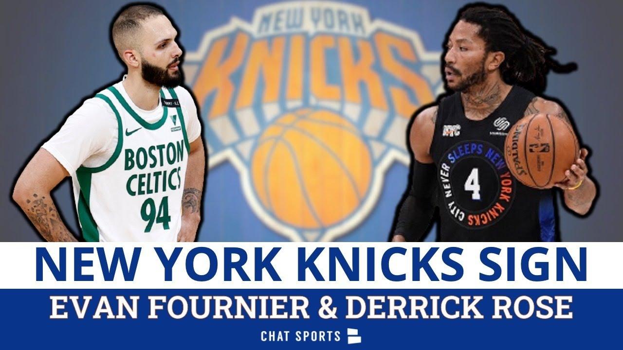 Knicks nab Evan Fournier, Derrick Rose in free agency: Reports