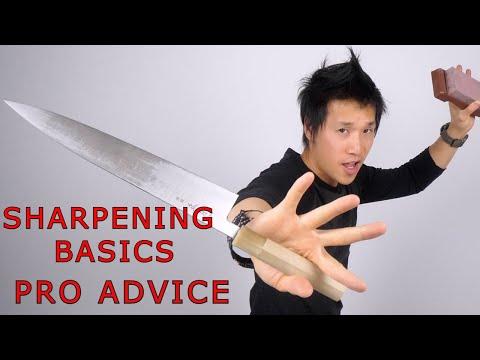 Top 5 Sharpening Basics -  How to Sharpen Knife on Whetstones