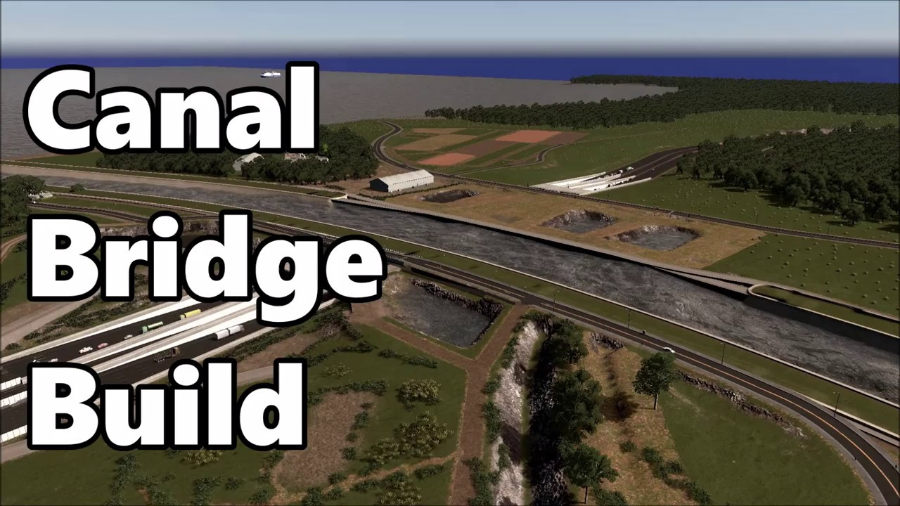 How To Build A Bridge In Cities Skylines