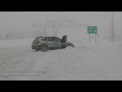 Major Winter Storm Hammering Rochester, NY - 2/16/2016