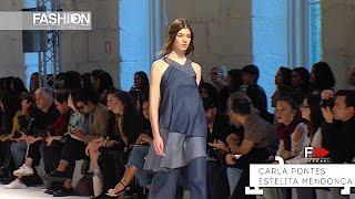 CARLA PONTES   ESTELITA MENDONCA Portugal Fashion Week Spring Summer 2017 by Fashion Channel