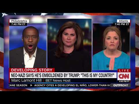 "Marc Lamont Hill OWNS DELUSl0NAL Trump Supporter Amy Kremer, ""Trump is ENABLING The K.K.K_"""