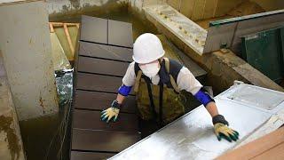 大雨浸水、畳は浮き冷蔵庫は…部屋からの脱出阻む恐怖