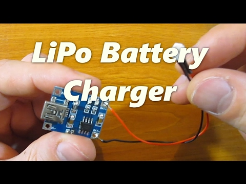 How to make LiPo battery charger using TP4056 board