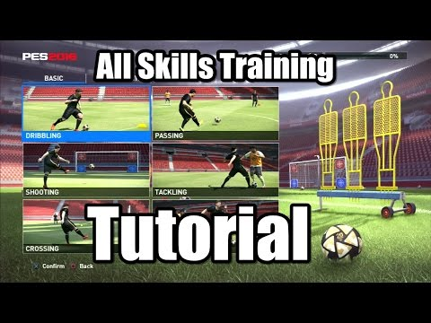 PES 2016 All Skills Training