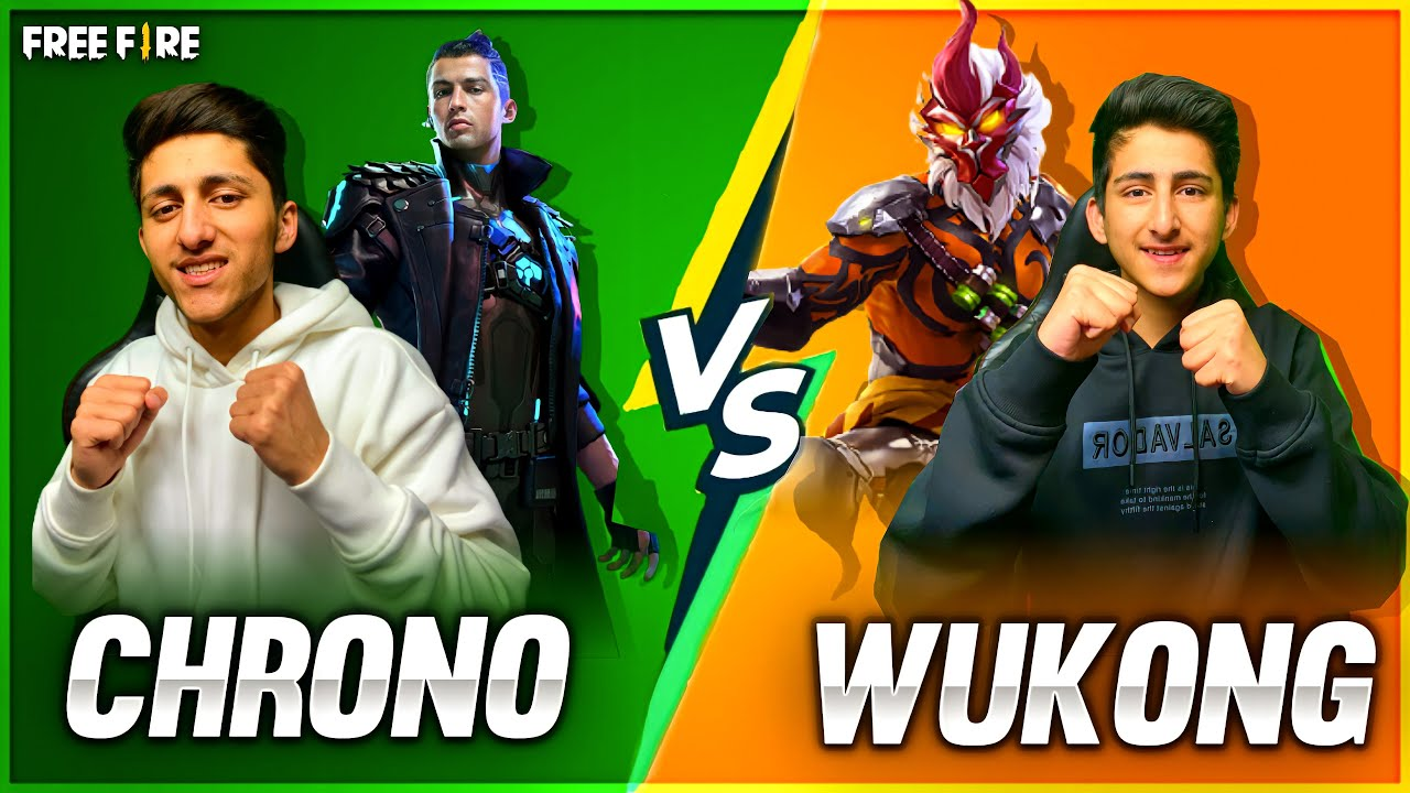 Chrono Vs Wukong Best Clash Squad Battle As Gaming Challenge Little Brother ? - Garena Free Fire