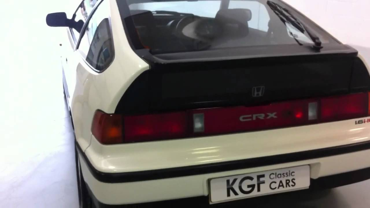 Honda Civic Coupe For Sale >> Original Honda CRX 1.6i-16v Coupe with just 43,391 Miles from New. **SOLD** - YouTube