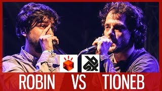 ROBIN vs TIONEB  |  Grand Beatbox LOOPSTATION Battle 2017  |  1/4 Final