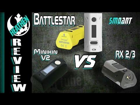 Smoant Battlestar vs RX 2/3 vs Minikin V2 I Heathen