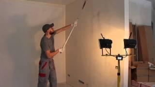 видео Покраска стен