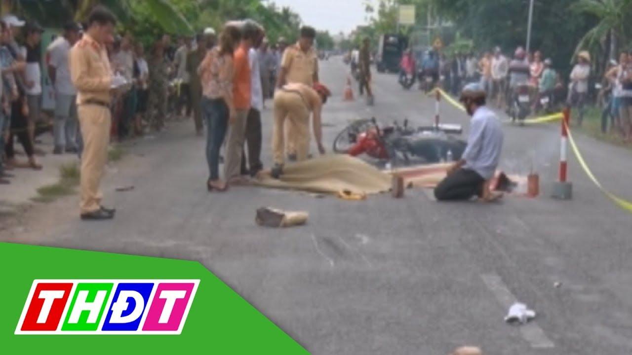 Bến Tre: Tai nạn giao thông làm hai vợ chồng tử vong   THDT