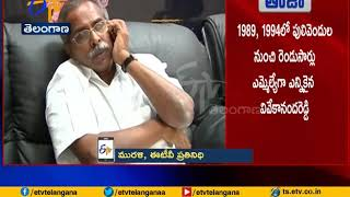Ex MP YS Vivekananda Reddy Passes Away   Pulivendula in Kadapa Dist