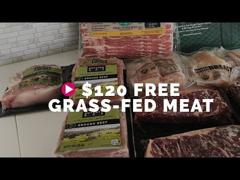 $120 Free Grass-fed Meat