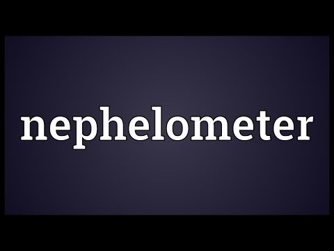 Header of nephelometer
