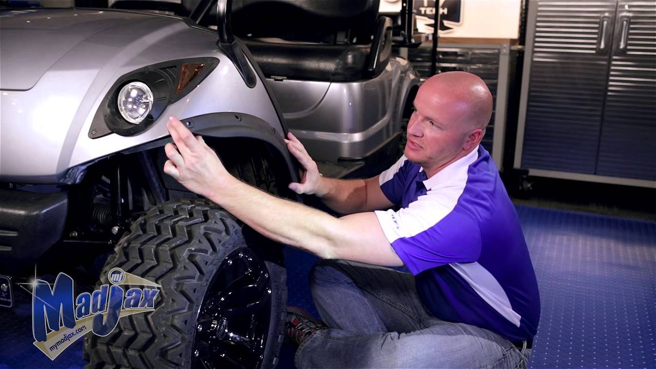 Fender Flares for Yamaha® Drive® | How to Install Video | Madjax® Golf Cart  Accessories