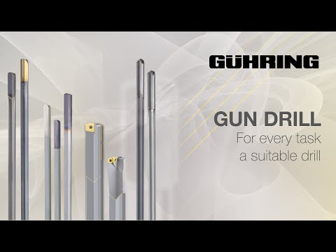 Gun Drills - For Every Task A Suitable Drill!