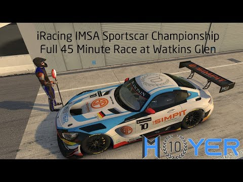 iRacing Mercedes AMG GT3 at Watkins Glen in IMSA Sportscar Championship - Final Race of the Week Mp3