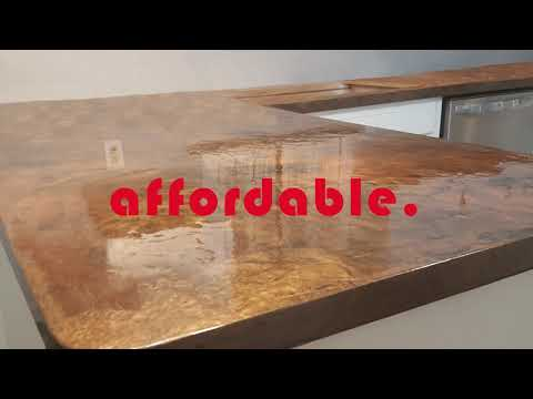 Epoxy Countertops - Unlimited Color Options