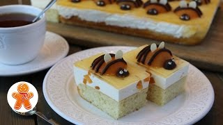 Пирог  Абрикосовые Пчёлки