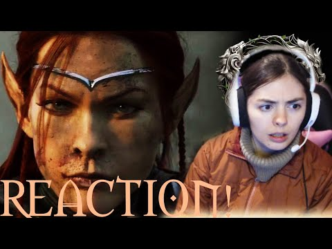 "The Elder Scrolls Online ""The Arrival"" Cinematic Trailer Reaction!"