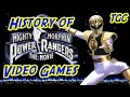 History of Power Rangers Video Games: The Movie & Fighting Edition | GEEK CRITIQUE