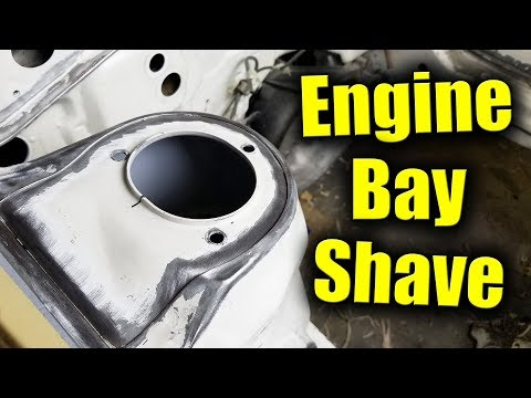 AE86 Project   Shaved Engine Bay Pt.1   Bike Carbed 4AGE Automotive Build Vlog   Toyota Corolla AE86