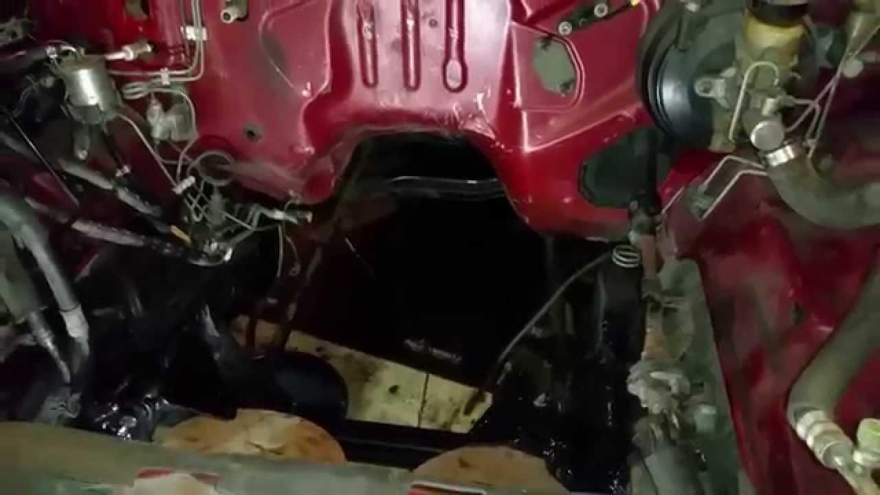 Nissan Hardbody Small Block Chevy V8 Swap