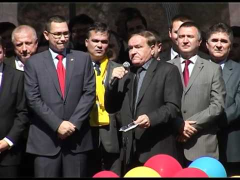 Discurs Aristotel Căncescu - Lansarea Candidaților USL BRAȘOV - 28.04.2012