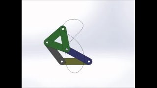 Video Four bar mechanism simulation and point trace download MP3, 3GP, MP4, WEBM, AVI, FLV Desember 2017