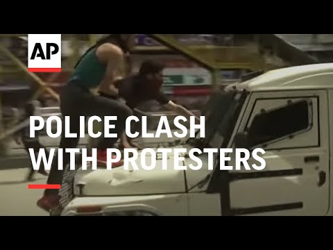 Police clash with protesters in Indian-run Kashmir