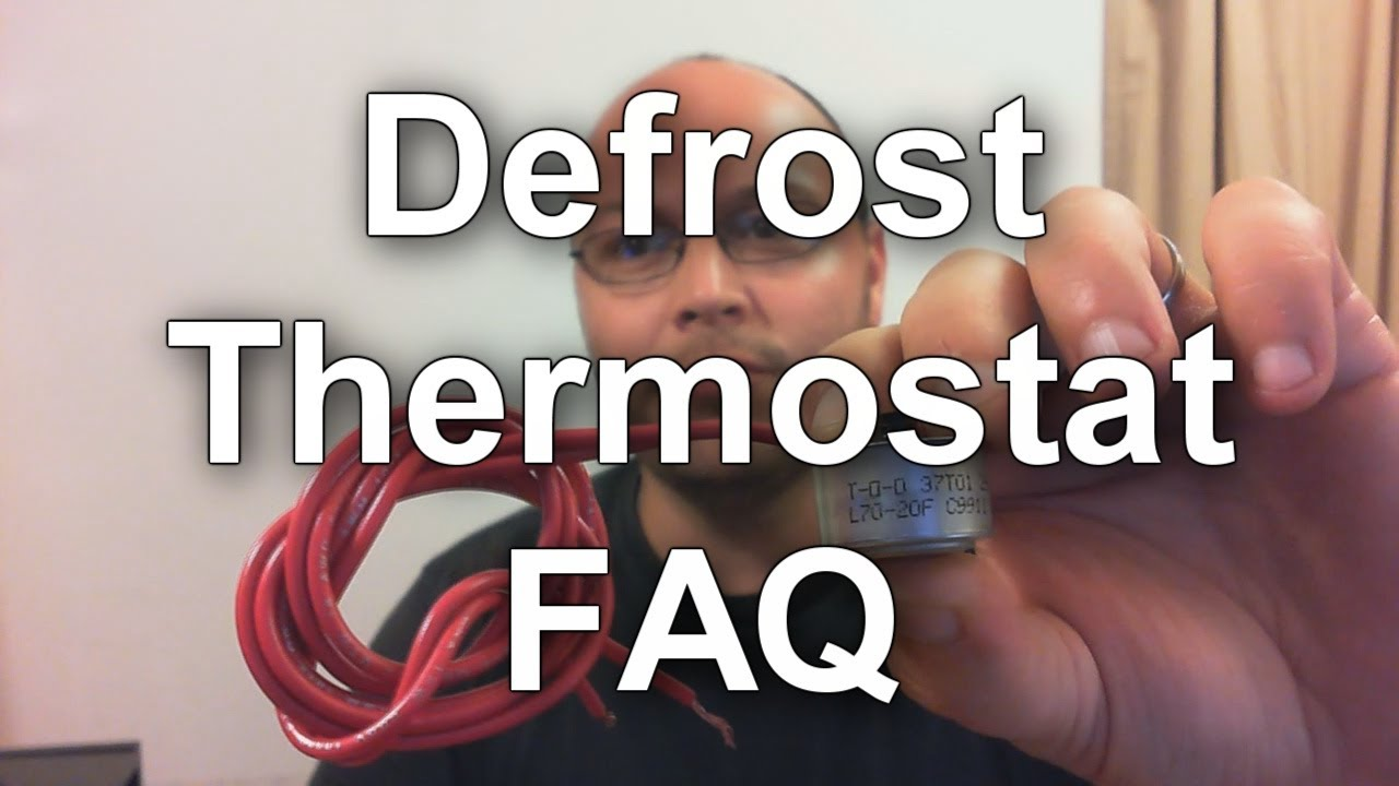 Amana Wiring Diagram Defrost Thermostat How To Test And How They Work Youtube