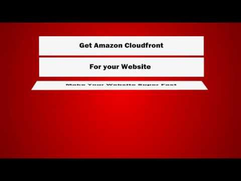 Setup Cloudfront or another CDN optimization for website