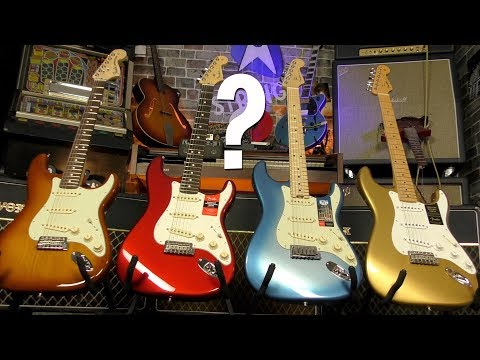 Fender American Strats - What's The Difference?