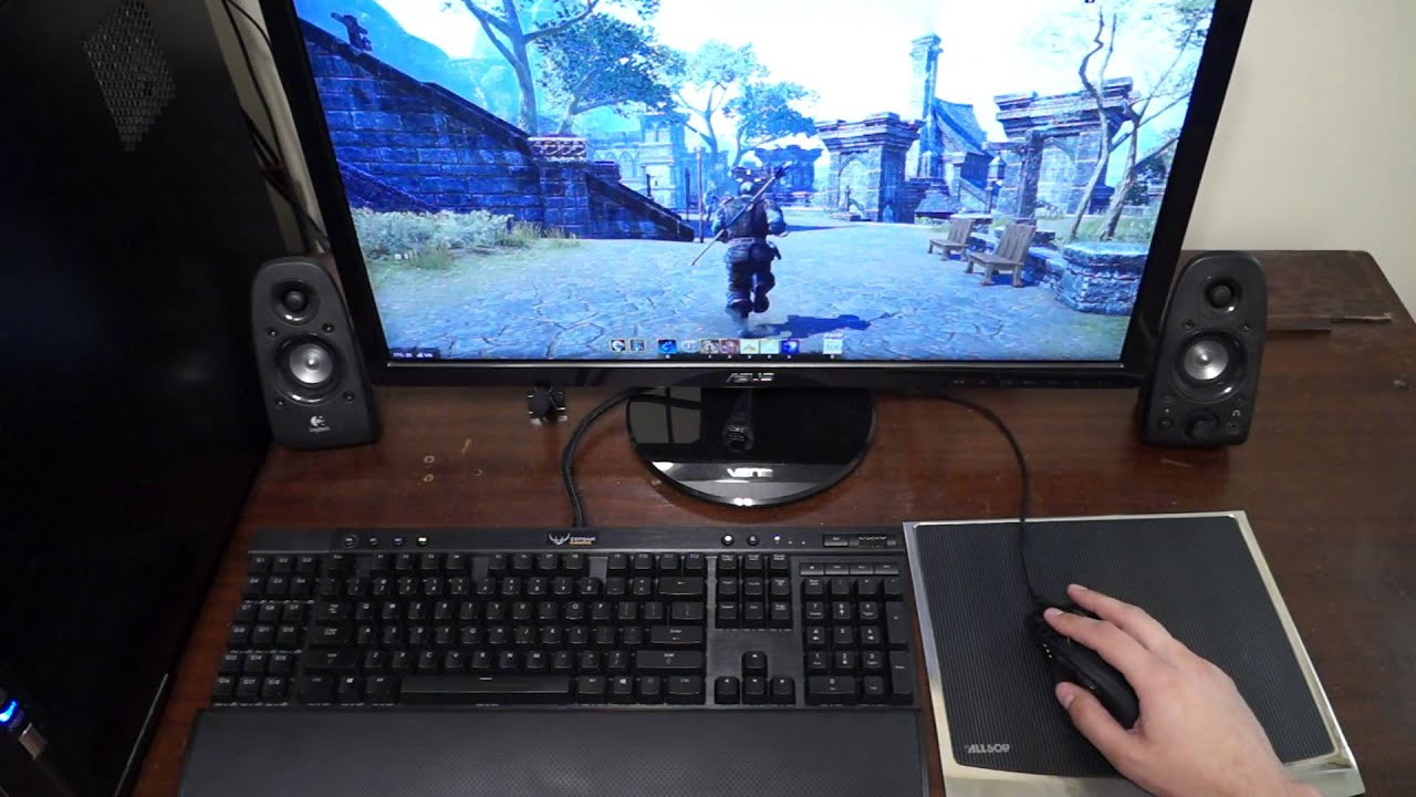 Elder Scrolls Online - Loss of Input Control and Camera Rotation during  mouse + keyboard keypress