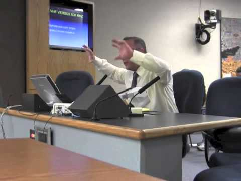 Mesa City Council Public Safety Subcommittee Emergency Radio Presentation