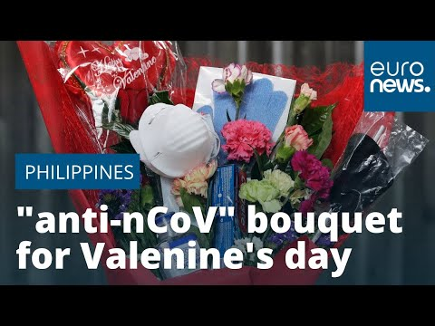 This bouquet hopes to ensure love is the only thing in the air this Valentine's Day