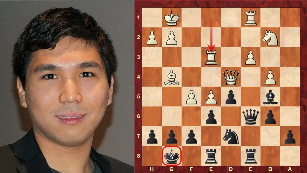 amazing chess game wesley so the filipino 16 year old super gm