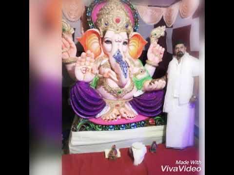 RAHULGalli ka Ganesh..! Moriya moriya songs from SR Nagar ..!!