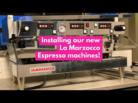 The Espresso Machines Are In! || How To Open A Coffee Shop
