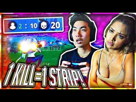 1 KILL = REMOVE 1 CLOTHING PIECE (Fortnite NEW MODE GAMEPLAY) #5